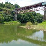 野尻大橋下の風景