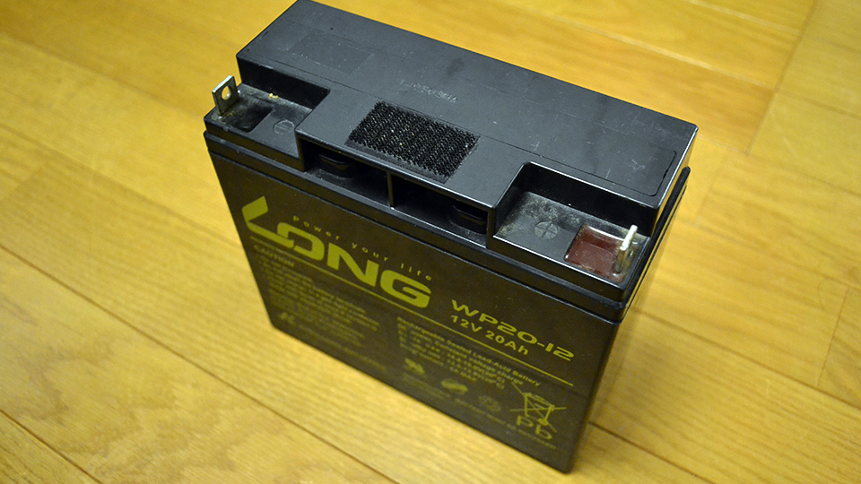 LONG製バッテリー『WP20-12』