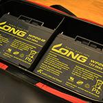 SK11 EVAツールボックスLとLONG製バッテリー『WP20-12』二個