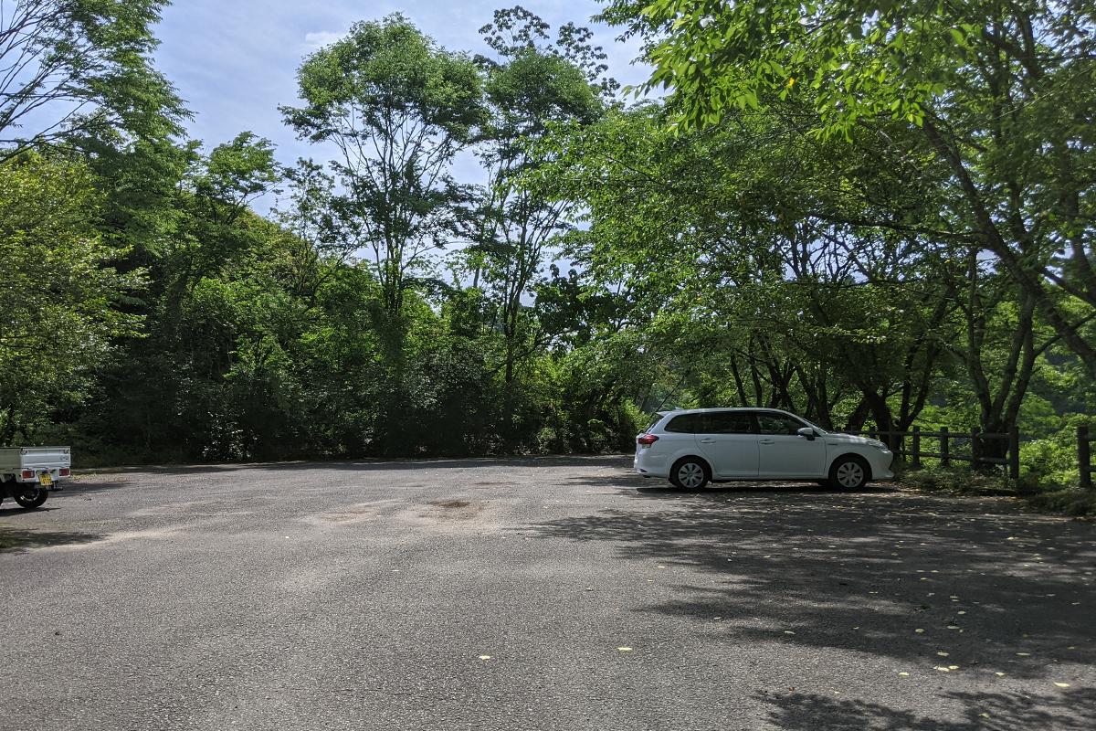 中池の第二駐車場