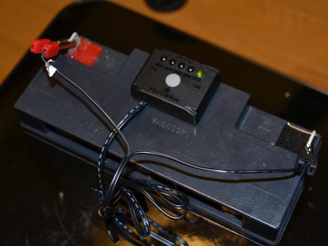 エレキモーター用バッテリー残量チェッカー